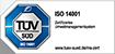 ISO 14001 Zertifizierung für DCON
