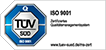 ISO 9001 Zertifizierung für DCON