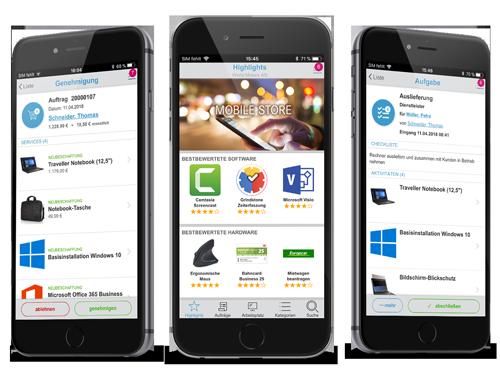 Bestellen, genehmigen und arbeiten von überall mit Servity Mobile