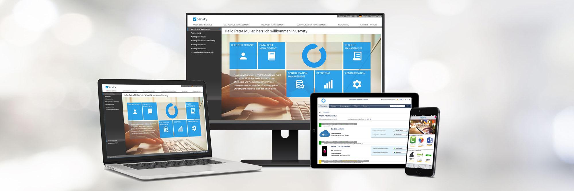 Servity Enterprise Service Management Software