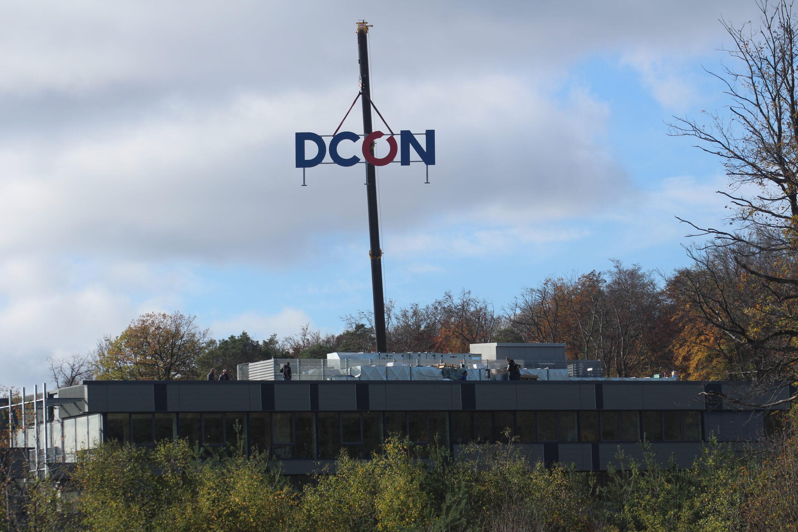 Unser bislang größtes DCON Logo
