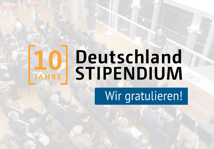 10 Jahre Deutschlandstipendium